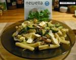 Pasta warzywna z newellą z nutą orzecha włoskiego i sera cheddar