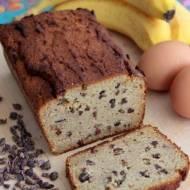 Chleb paleo bananowy (z ziarnami kakao)