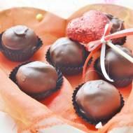 Trufle serowe o smaku cytrynowo - czekoladowym