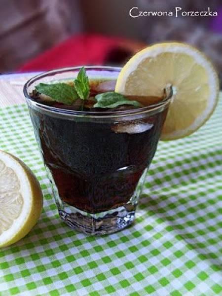Cherry Coke- drink z wiśniową nutą