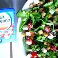 Śródziemnomorska sałatka z grillowaną ośmiornicą!