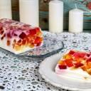 Galaretkowiec - ciasto z galaretek