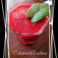 Szybki koktajl truskawkowo - arbuzowy