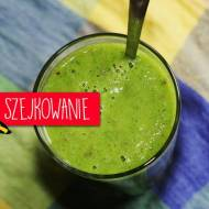Zielone smoothie ze szpinakiem