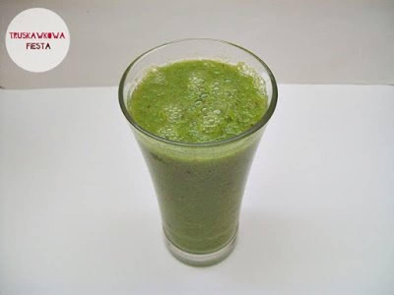 Koktajl - zielone oczyszczenie