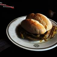 Gofer bhaji burger