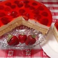 Ciasto Truskawkowe z Kremem Budyniowym