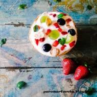 Owocowy deser z parowaru