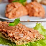 Paprykarz z tuńczyka z dodatkiem melisy