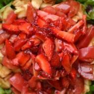 Szałołt ze pozimkōma  (Sałatka z truskawkami)