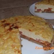 Ciasto serowo - pomidorowe