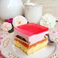 Ciasto Shrek - na różowo