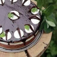 Miętówka- orzeźwiający tort miętowo-czekoladowy/ Refreshing mint&chocolate cake