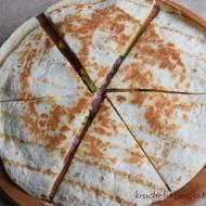 Quesadillas z salami - pychota :)
