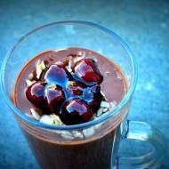Dietetyczny deser czekoladowy