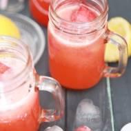 Lemoniada Cytrynowo – Truskawkowa z Bąbelkami