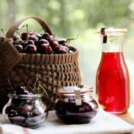 Przetwory z wiśni: Domowy Dżem Wiśniowy. Prosty i szybki przepis na dżem. Jak pasteryzować sloiki i nakrętki?