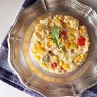Smaczna i zdrowa sałatka z kaszą jaglaną i kurczakiem