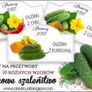 10 etykiet na ogórki i przegląd słoików
