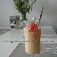 Kawa mrożona z rabarbarem - przepis