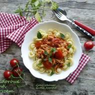 Pomidorowe volanti z dorszem