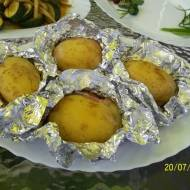 Ziemniaki z boczkiem, z grilla
