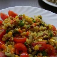Jaglanka z warzywami i boczkiem (bezglutenowa)