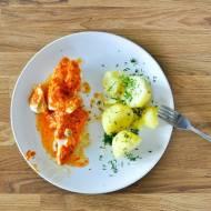 Ryba z czerwonym pesto - 330 kalorii - DIETA