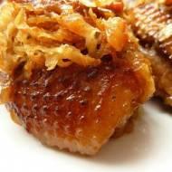 Gęsina w selerowo-śliwkowym sosie