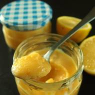 Lemon curd na żółtkach - krem cytrynowy do ciast i deserów