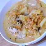 Zupa ogórkowa na żeberku lub szynce