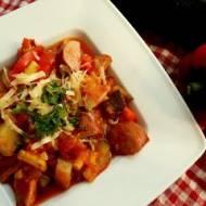 Bakłażany faszerowane pomidorami