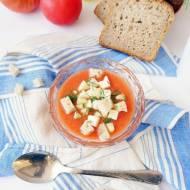 Chłodnik z pomidorów czyli hiszpańskie Gazpacho idealne na upały