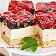 """Ciasto """"Letnia Bryza"""" owocowe z jogurtem"""