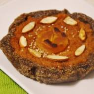wega jabłkowa szarlotka amarantusowo-migdałowa