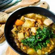 ZUPA KORZENNA – GOTHIC – zupa z warzyw korzeniowych i soczewicy