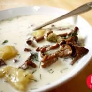 Zupa kurkowa ze śmietaną