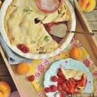 Krucha tarta z brzoskwiniami, nektarynkami, morelami…