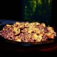 Filety z udek kurczaka z kaszą gryczaną (porcja - ok. 400 kcal)