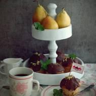 Jogurtowe muffinki z gruszką