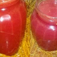 Sok pomidorowy z wyciskarki i  normalnie