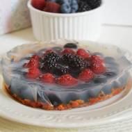 wege goji ciasto z galaretką owocową