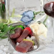 Lizaki lodowe dla dorosłych, z winem i domowymi sokami