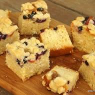 Ciasto drożdżowe bez zagniatania - sypane