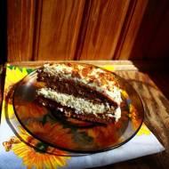 Ciasto marchewkowe z kremem cytrynowym bez masła (kawałek (100 g) ok. 255 kcal)
