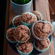 Czekoladowe muffinki ze śliwkami