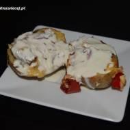 Pieczone ziemniaczki z nadzieniem