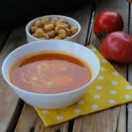 Zupa krem z cukinii i pomidorów do słoików na zimę