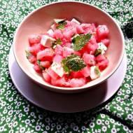 Arbuzowa sałatka z fetą