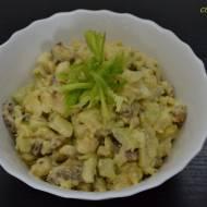 Gibki szałołt ze curry (Szybka sałatka z curry)